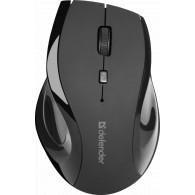 Мышь Defender MM-295 Accura беспроволная черная USB (52295)