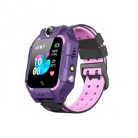 Смарт-часы детские с GPS трекером Q19 (фиол)