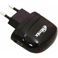 Адаптер 220V->USB 2А Ritmix RM-003NP