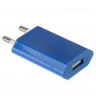 Адаптер 220V->USB 1A Medium цветной плоский