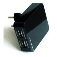 Адаптер 220V->2*USB 1A+2,1А Acme Power AP AV-23