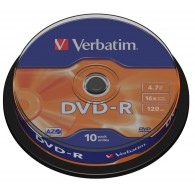 Verbatim DVD-R 4.7Gb 16x Cake box /10