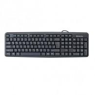 Клавиатура Defender HB-520 Element черная USB /20 (45522)