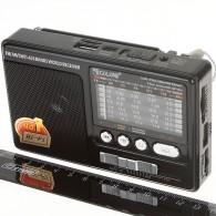 Радиоприемник RX-181ch (USB+microSD/Powerbank) черный
