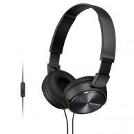 Гарнитура Sony MDR-ZX310AP накладные черные, с микрофоном