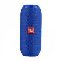 Мини-колонка TG-117 синяя (BT, USB, microSD) (112879)
