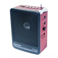 Радиоприемник ST-901 (USB/Fm) красный Sonater