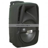 Колонка портативная AIWA BS12-4 (Bluetooth/USB /microSD/FM/микрофон) чер