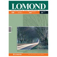 Бумага Lomond матовая A4, 130г *2х /100 листов двухсторонняя (0102004)/14