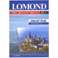 Пленка Lomond прозр A4 /50 л для цветн струйн принтеров(0708415)