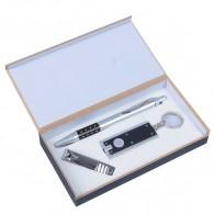 Подарочный набор (ручка+кусачки+фонарик) (476351)