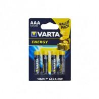 Батарейка Varta LR03 Energy BL 4/40