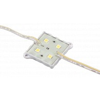 Модуль Activ 3528/4leds DC12V white IP65 (уп 20 шт)