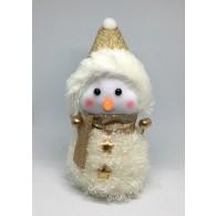Снеговик без подсветки средний