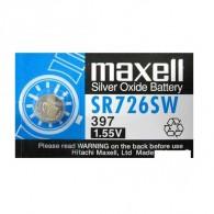 Батарейка Maxell SR 726 SW (397) BL 1/10