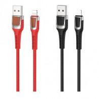 Кабель USB- lightning Hoco U81 1м 2,4А ткань