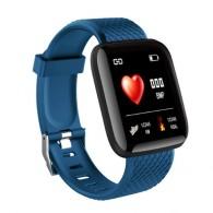 Фитнес-браслет ID116 Plus синий