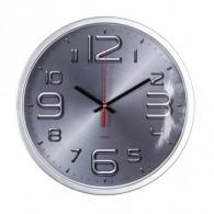 Часы настенные Бюрократ R82P D30см серебро