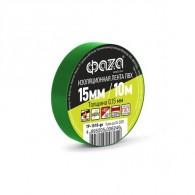 Изолента Фаzа TP-1510 зеленый
