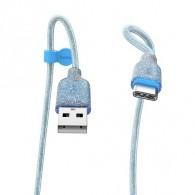 Кабель USB- Type-C Hoco U73 1,2м (3А) силикон