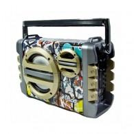 Радиоприемник RD-053U (Fm/BT/USB/microSD/акб/220V) цветной RSDO