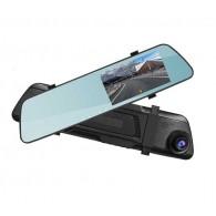 Видеорегистратор Mega L1018 (зеркало,2 камеры,120\90°,microSD до 32Gb)