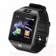 Smart-часы DZ09 мужские черно-серебр