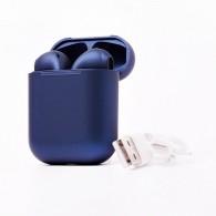 Гарнитура Bluetooth Kurato Pods темно-синяя (112080)