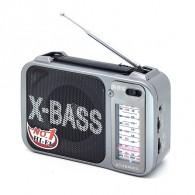 Радиоприемник RS-2400 (акб\2*R20) RRS серебро (12х18х7см)