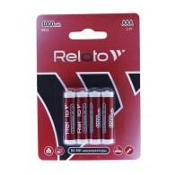 Аккумулятор Relato R03 1000 Ni-Mh BL 4