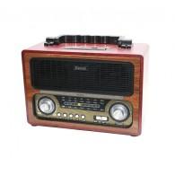 Радиоприемник MD-1800BT (Bluetooth/USB /SD/microSD/FM/акб/4*R20) чер Kemai