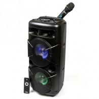 """Колонка портативная 8"""" Dialog AO-20 (Bluetooth/USB /microSD/микроф) черная"""
