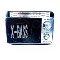 Радиоприемник FM-780DL (USB+SD) черный