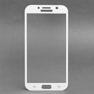 Защитное стекло 2,5D для Samsung SM-A720 Galaxy A7 2017 белое (84361)