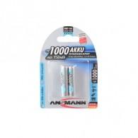 Аккумулятор Ansmann R03 1000 Ni-Mh BL 2/24