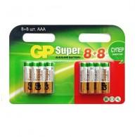 Батарейка GP LR03 Super Alkaline BL 16/96/576