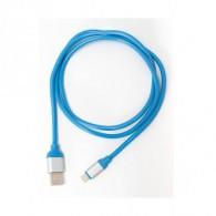 Кабель USB- lightning APPACS AP03153i (5v, 2.4A) 1м