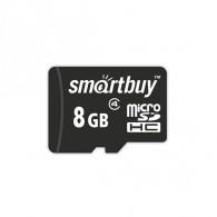Карта памяти microSDHC SmartBuy 8Gb Class 4 без адаптера