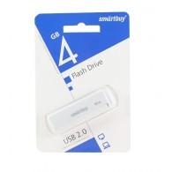 Флэш-диск SmartBuy 4GB USB 2.0 LM05 белый