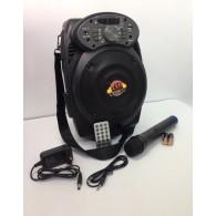 Колонка портативная MEIRENDE MA-A6 (Bluetooth/USB /microSD/FM/микрофон) чер