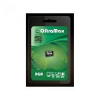 Карта памяти microSDHC OltraMax 8GB Class 4 без адаптера