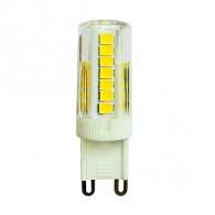 Лампа светодиодная Jazzway PLED-G9 PRO 5W 4000K 400Lm 230V (без пульсац)