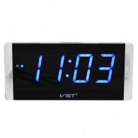 Часы электронные 731-5 (220V+2*ААА, син.цифры)