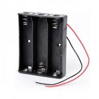 Батарейный отсек Robiton Bh3х18650 с проводами