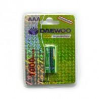 Аккумулятор Daewoo R03 1000 Ni-Mh BL 2/20