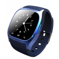 Smart-часы М26 для Android синхронизация по Bluetooth синие