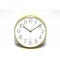 Часы настенные R8263ABC (1АА) белый циферблат, серебр. цифры