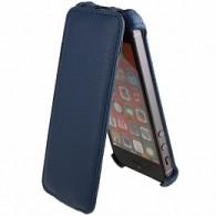 Чехол-книжка кожзам для iPhone 5 синий