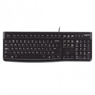 Клавиатура Logitech K120 USB проводная черная