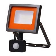Прожектор светодиодный Jazzway PFL -SС - 30W IP54 (матовое стекло) датч.движ